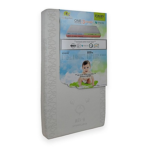KidiComfort™ Organic Cotton Natural Touch 2-in-1 Crib Mattress | Tuggl