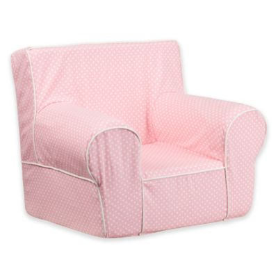 pink nursery furniture. flash furniture solid child seat in pink with white dots nursery l