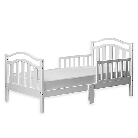Dream On Me Eldora Toddler Bed In White Buybuy Baby