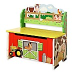 Teamson Fantasy Fields Happy Farm Storage Bench