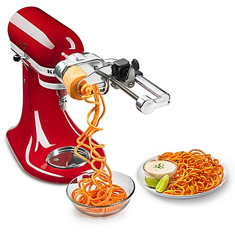 Kitchenaid 174 Spiralizer Thin Blade Accessory Pack Bed
