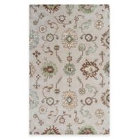 KAS Florence Allover Oushak 5-Foot x 8-Foot Area Rug in Sand