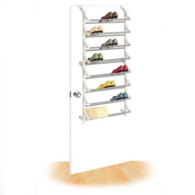 lynk overthedoor 24pair shoe rack