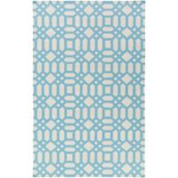 Style Statements by Surya Zunyi 2-Foot x 3-Foot Indoor/Outdoor Accent Rug in Sky Blue