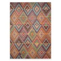 Safavieh Monaco Diamonds 8-Foot x 11-Foot Area Rug in Beige Multi