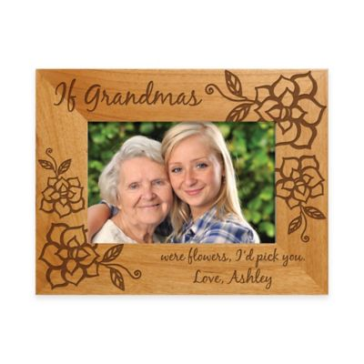 personalized gifts if grandmas were flowers id pick you 4