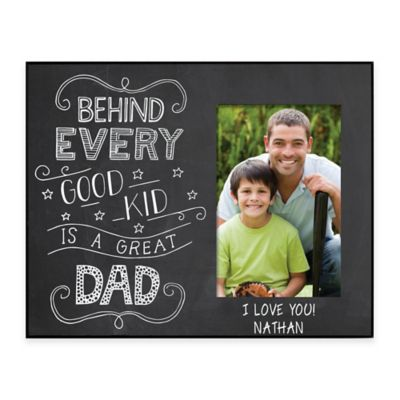 great dad 4 inch x 6 inch picture frame