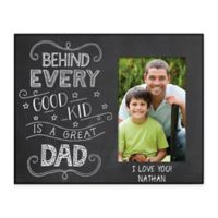 Great Dad 4-Inch x 6-Inch Picture Frame