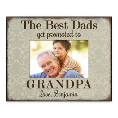 the best dads 4 inch x 6 inch picture frame
