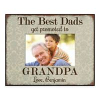 """The Best Dads"" 4-Inch x 6-Inch Picture Frame"