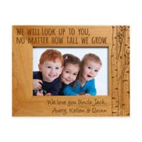 """We Will Look Up to You"" 4-Inch x 6-Inch Picture Frame"