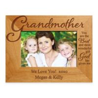 "Grandmother ""The Best Gift"" 4-Inch x 6-Inch Picture Frame"