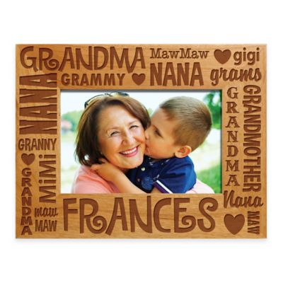personalized gifts words for grandma 4 inch x 6 inch picture frame