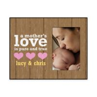 """""""A Mother's Love"""" 4-Inch x 6-Inch Picture Frame"""
