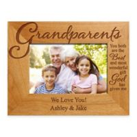 "Grandparents ""The Best Gift"" 4-Inch x 6-Inch Picture Frame"