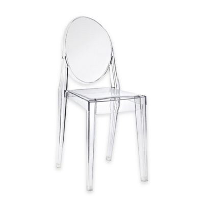 Ordinaire American Atelier Olivia Chair In Clear Clear