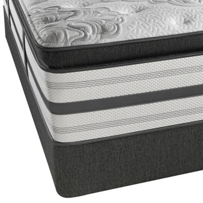 Beautyrest Platinum Ontario Luxury Firm Box Top Low Profile Twin Mattress Set