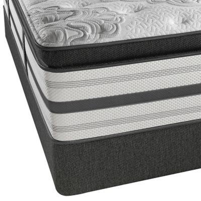 Beautyrest Platinum Ontario Plush Box Top Low Profile Twin Mattress Set