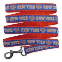 NBA New York Knicks Medium Pet Leash