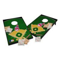 MLB Cleveland Indians Tailgate Toss Cornhole Set