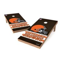 NFL Cleveland Browns Regulation Cornhole Set
