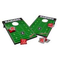 NFL Oakland Raiders Tailgate Toss Cornhole Set