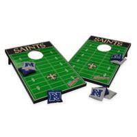 NFL New Orleans Saints Tailgate Toss Cornhole Set