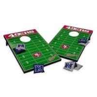 NFL San Francisco 49ers Tailgate Toss Cornhole Set