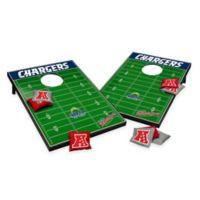 NFL San Diego Chargers Tailgate Toss Cornhole Set
