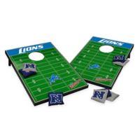 NFL Detroit Lions Tailgate Toss Cornhole Set