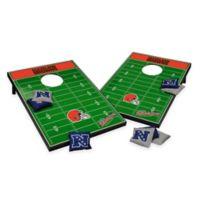 NFL Cleveland Browns Tailgate Toss Cornhole Set