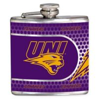University of Northern Iowa Stainless Steel Hip Flask
