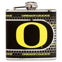 University of Oregon Stainless Steel Hip Flask
