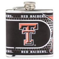 Texas Tech University Stainless Steel Hip Flask
