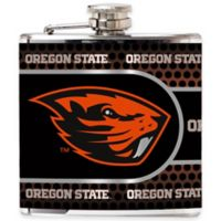 Oregon State University Stainless Steel Hip Flask