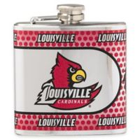 University of Louisville Stainless Steel Hip Flask