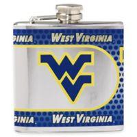 West Virginia University Stainless Steel Hip Flask