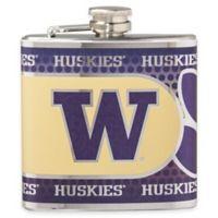 University of Washington Stainless Steel Hip Flask