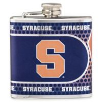 Syracuse University Stainless Steel Hip Flask