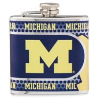 University of Michigan Stainless Steel Hip Flask