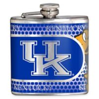 University of Kentucky Stainless Steel Hip Flask