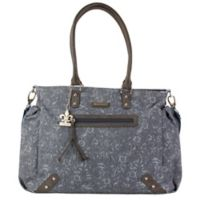 Kalencom Paris Diaper Bag in Paisley Denim