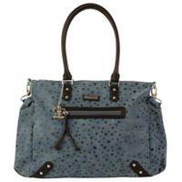 Kalencom™ Paris Diaper Bag in Starburst Blue