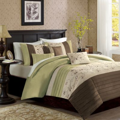 Buy Green Duvet Covers from Bed Bath & Beyond : brown quilt cover - Adamdwight.com