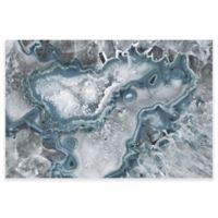 Marmont Hill Icy Layers 36-Inch x 24-Inch Canvas Wall Art