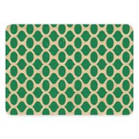Premium Comfort Weather Guard™ 22-Inch x 31-Inch Geo Kitchen Mat in Emerald