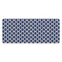 Premium Comfort Weather Guard™ 22-Inch x 52-Inch Geo Kitchen Runner in Blue