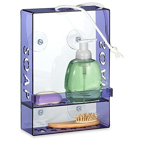 KangaRoomTM Soap On A Rope Acrylic Shower Caddy