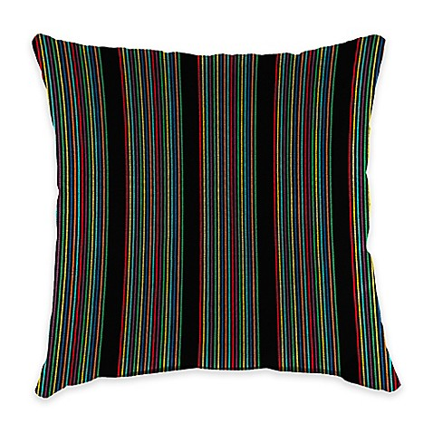 20 Inch Square Outdoor Throw Pillow In Sunbrella HiFi