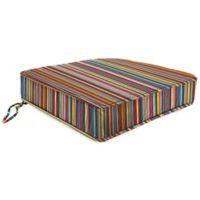 18-Inch x 20.5-Inch Trapezoid Chair Cushion in Sunbrella® Mode Seaside